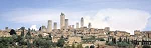 Panoramic Images – Buildings in a city, San Gimignano, Tuscany, Italy Artistica di Stampa (68,58 x 22,86 cm)
