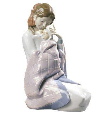 Nao Porcelain Figurine: My Baby Girl (8-3/4