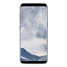 Samsung Galaxy S8, 64GB, Arctic Silver – For Verizon (Renewed)