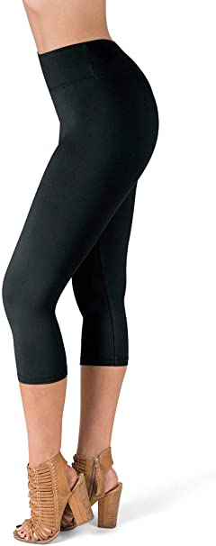 Amazon.com: SATINA High Waisted Leggings - 25 Colors - Super ...