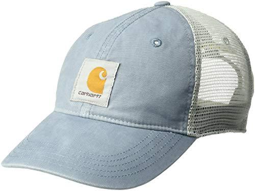 Carhartt Women's Buffalo Cap, Steel Blue, OFA ()