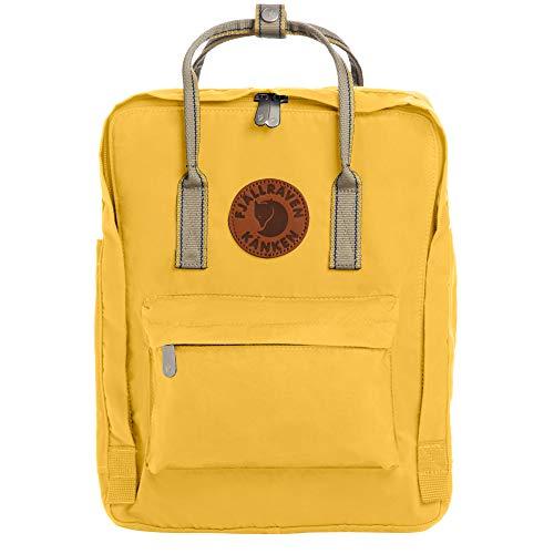 Fjallraven - Kanken Greenland Backpack for Everyday, Dandelion/Greenland Backpack for Everyday Webbing