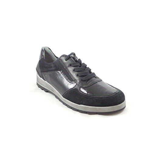 mujer para negro Zapatillas ara negro H0qBCw