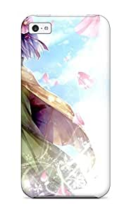 XiFu*MeiCase Cover Touhou Purplekimono Petals Butterfly Anime/ Fashionable Case For ipod touch 4XiFu*Mei