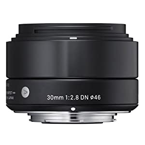 Sigma 30mm F2.8 DN Lens for Sony E-mount Cameras (Black)