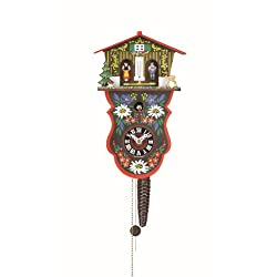 Quarter call cuckoo clock with 1-day movement and weather house Swiss House TU 625