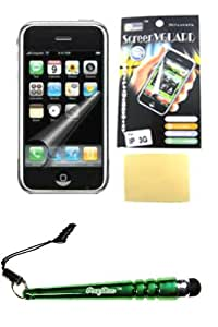 FoxyCase(TM) FREE stylus AND Protector Screen for Iphone 3G fabulous LCD Screen Protector Cover