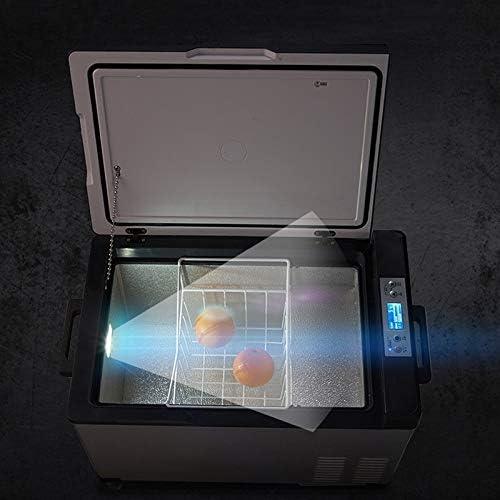Weiaxminibx コンプレッサーカー冷蔵庫カーデュアル使用の冷凍アイシングカーミニ冷蔵庫学生寮冷蔵 (Size : 15L)