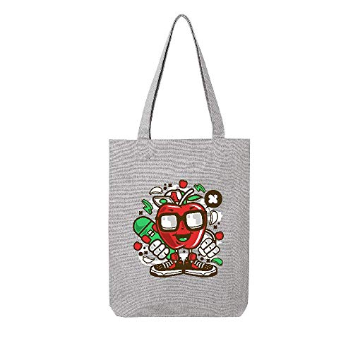 Tissus Tote Lmk Lookmykase skater Gris Apple RfYPq0wx
