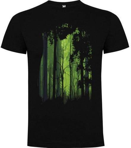 Roly Camiseta Hombre Bosque (L): Amazon.es: Ropa y accesorios
