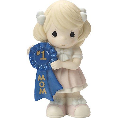 Precious Moments, 1 Mom, Bisque Porcelain Figurine, Girl, 164002
