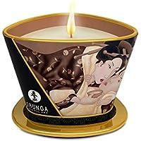 Shunga Vela de Masaje Excitation, Aroma de Chocolate