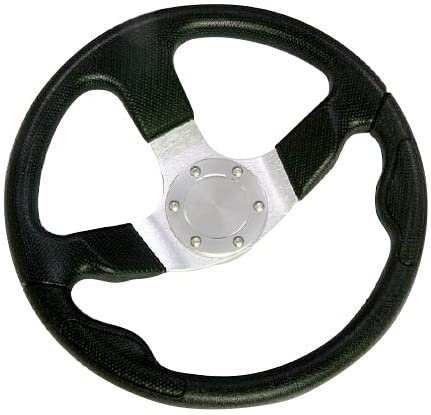 <span>Boat Marine Steering Wheel</span> for Sailboat, Bass Boat, Yacht, Pontoon Boat [Woqi] Picture