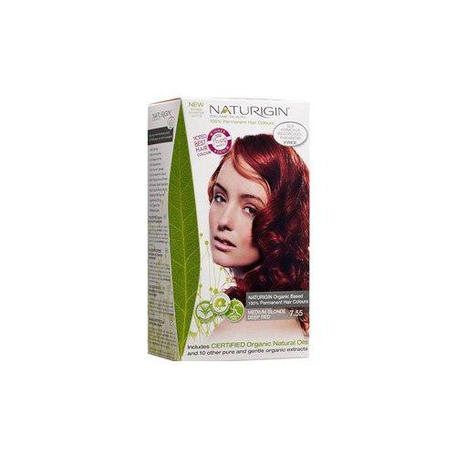 Naturigin Hair Colour - Permanent - Medium Blonde Deep Red -