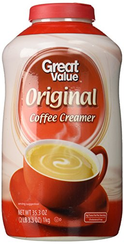 Great Value  Non Dairy Coffee Creamer  35 3 Oz