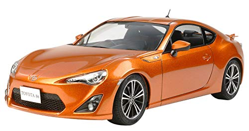 TAMIYA 300024323 Toyota GT86 Kit-Highly Detailed Model 1:24 Scale Movable Wheels and Steering 116 Pieces