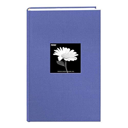 Fabric Frame Cover Photo Album 300 Pockets Hold 4x6 Photos, Sky Blue (Limited Edition)