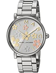 Marc Jacobs Womens Classic Quartz Stainless Steel Casual Watch, Color:Silver-Toned (Model: MJ3579)