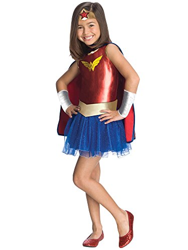 Rubie's Justice League Child's Wonder Woman Tutu Dress - -