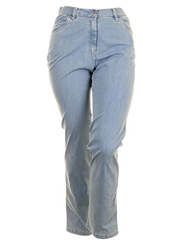 Jeans Betty Straight Leg in hellblau in Übergrößen (46) von KJ Brand