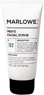 MARLOWE. No. 122 Men's Facial Scrub 6 oz | NEW Improved Formula | Light Daily Exfoliating Face Cleanser |