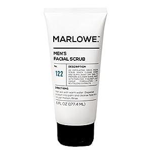 MARLOWE. No. 122 Men's Facial Scrub 6 oz   NEW Improved Formula   Light Daily Exfoliating Face Cleanser   Fresh… 2