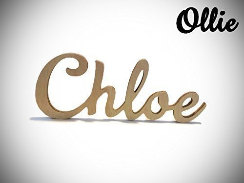 Amazon.com: Personalized Nursery Letters Wood Letters for Above Crib ...