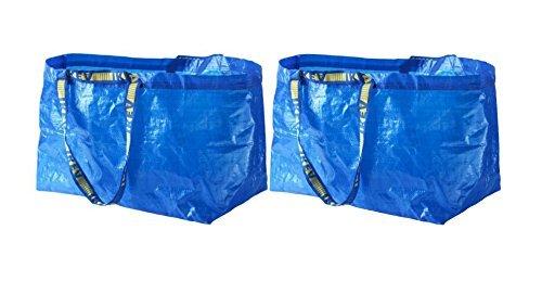IKEA FRAKTA Carrier Bag, Blue, Large Size Shopping