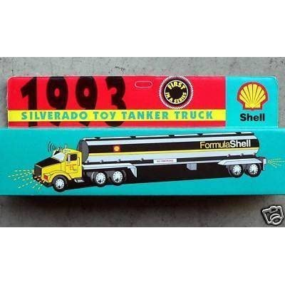 Shell Silverado Toy Tanker Truck 1993: Toys & Games