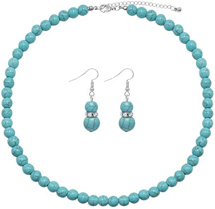 Colorose Gemstone Necklace Strand Earring product image
