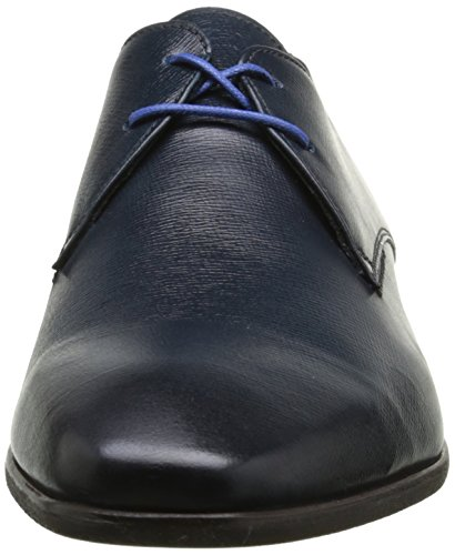 Azzaro Jurico - Zapatos de Cordones de cuero hombre Bleu (Navy)