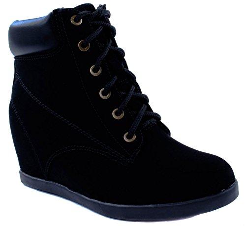 - Top Moda Women's Peter-12 Black mid-Heel 8 D(M) US