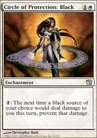 Magic: the Gathering - Circle of Protection: Black - Ninth Edition