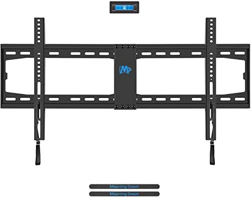 Mounting Dream TV Wall Mount TV Bracket for Most 42-70 Inches LED, LCD Plasma Flat Screen TV, TV Mount with VESA Up to 800X400mm, Fits 8 , 12 , 16 , 18 , 24 , 32 Stud, 132LBS, Low Profile MD2361-32