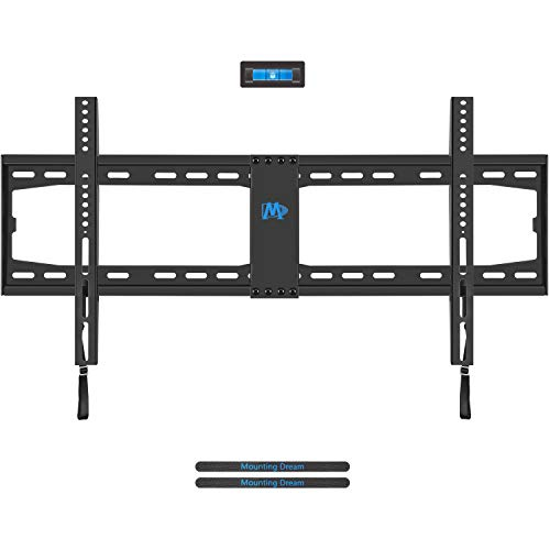 Mounting Dream TV Wall Mount TV Bracket for Most 42-70 Inches LED, LCD Plasma Flat Screen TV, TV Mount with VESA Up to 800X400mm, Fits 8″, 12″, 16″, 18″, 24″, 32″ Stud, 132LBS, Low Profile MD2361-32