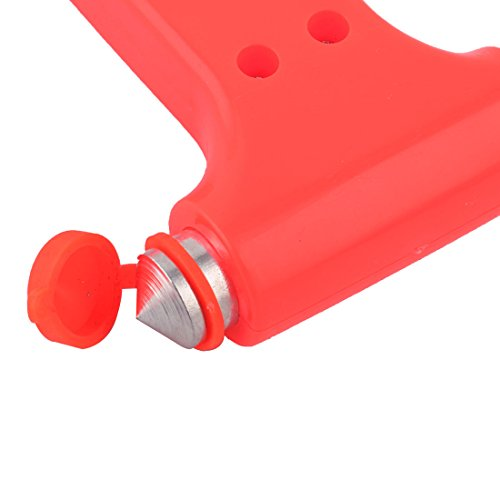 uxcell Plastic Handle Car Auto Safety Emergency Break Hammer 133mm Long 2pcs by uxcell (Image #1)