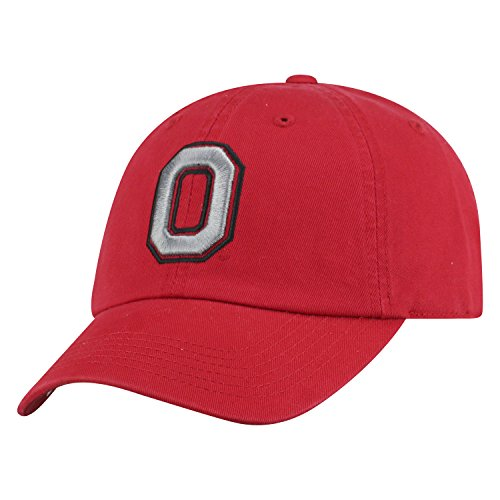 - Top of the World NCAA Mens College Town Crew Adjustable Cotton Crew Hat Cap (Ohio State Buckeyes-Scarlet With Block O, Adjustable)