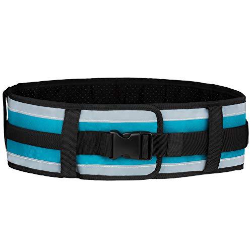 Gait Belt Velcro - ACTIF Transfer Belt with Handles | Non-Slip Lining | Quick-Release Plastic Buckle | Gait Belt for Mobility Assistance