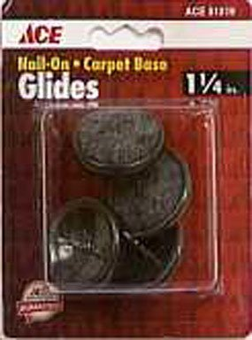 "UPC 082901512196, 1-1/4"" CARPET BASE NAIL-ON GLIDES ACE Insulation 51219 082901512196"