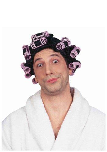 Forum Funny Crossdresser Curlers Housewife Adult Costume Wig