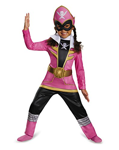 Super Megaforce Pink Power Ranger Toddler Costume (Size 3T-4T) ()