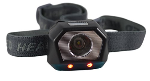 GoBackTrail LED HEADLAMP Rechargeable lightweight