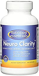 #1 Brain Function Booster Nootropic - Super Ginkgo Biloba complex with St John\'s Wort & Bacopin - Supports Mental clarity, Focus, Memory & more - 100% Moneyback Guarantee (1 Mo. Supply/1 Bottle)