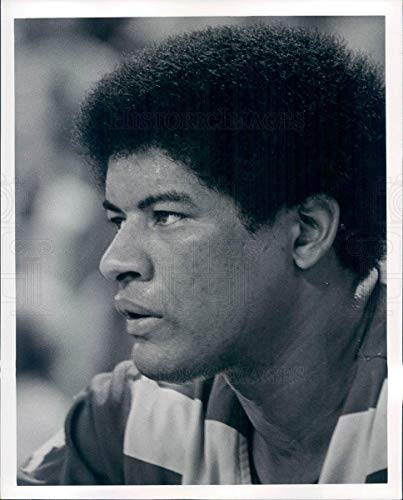 (Vintage Photos Undated Press Photo NBA Washington Bullets HOF Coach Wes Unseld - snb4717)
