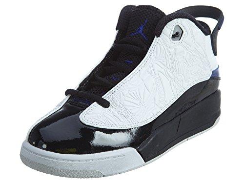 JORDAN DUB ZERO (PS) boys basketball-shoes 311071-106_12.5C - WHITE/CONCORD-BLACK-WHITE (Jordan Shoes For Boys Ps)