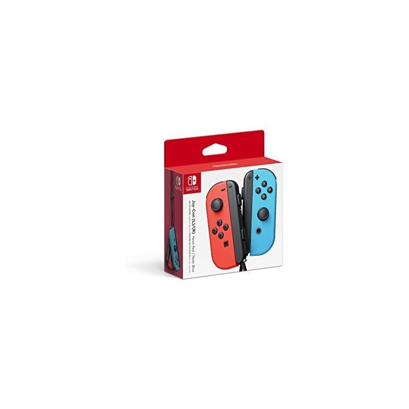 Nintendo Joy-Con (L/R) - Neon Red/Neon B