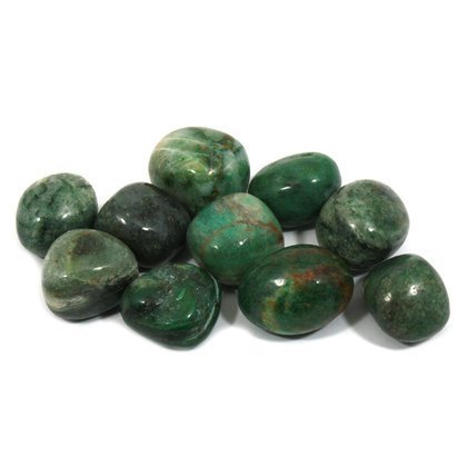 African Jade Tumble Stone (20-25mm) 5 Pack - by CrystalAge ()