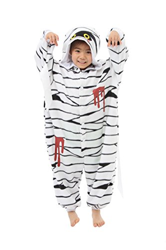 [Mummy Kids Kigurumi (2-5 Years)] (Horror Costumes For Kids)