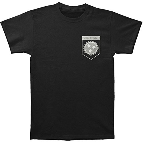 Whitechapel Men's Flag Shield T-shirt Small Black