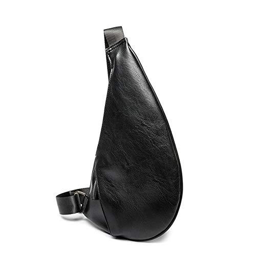 Air Sports Plein De Multifonction D'épaule Cuir noir En Épaule Sac Dos Bandoulière Hommes Mode À Pu Pour 7HqWwPAC